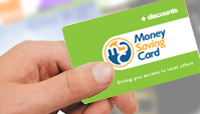 Access local offers with a Money Saving Card